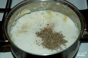 Сырный суп-пюре - фото шаг 3