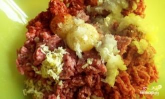 Мясной рулет с картофелем - фото шаг 2