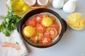 Яичница с кабачками и помидорами - фото шаг 4
