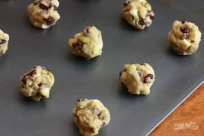 Печенье с фисташками, шоколадом и клюквой - фото шаг 6