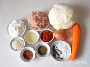 Голубцы в томатно-сметанном соусе - фото шаг 1