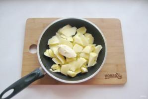 Яблочный пирог с мороженым - фото шаг 3