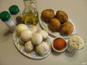 Зразы картофельные с грибами - фото шаг 1