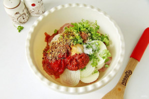 Шашлык из свинины с томатной пастой - фото шаг 3