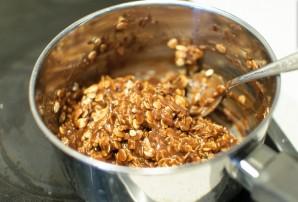 Шоколадное печенье без выпечки - фото шаг 3