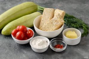 Фаршированный вегетарианский кабачок - фото шаг 1
