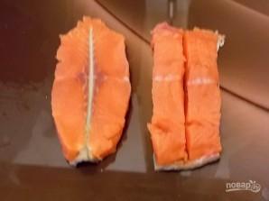 "Рыбный стейк ""Бабочка"" - фото шаг 4"