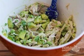 Салат с куринным филе - фото шаг 5