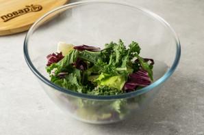 Салат из авокадо с грушей и сыром - фото шаг 4
