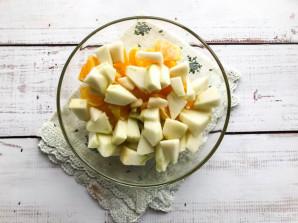 Салат с сельдереем и апельсином - фото шаг 5