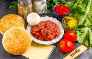 Бифбургер - фото шаг 1