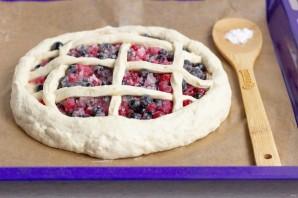 Открытый пирог со смородиной - фото шаг 6