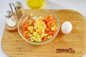 Фаршированная грудка индюшки овощами - фото шаг 2