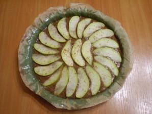 Открытый пирог с грушами - фото шаг 7