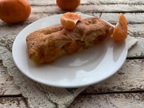 Заливной пирог с мандаринами - фото шаг 9
