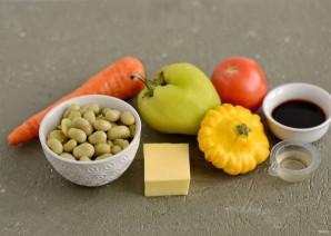 Салат из жареных овощей - фото шаг 1