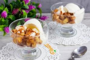 Жареный ананас с мороженым - фото шаг 4