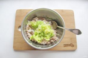 Перец фаршированный мясом и кабачками - фото шаг 3