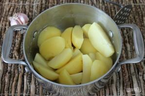 Картофельные лепешки на кефире - фото шаг 6