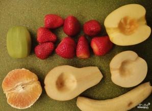 Сладкий салат из фруктов - фото шаг 2