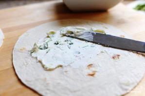 Овощные роллы из лепешек тортильяс - фото шаг 2