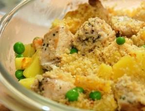 Салат с курицей и ананасами - фото шаг 4