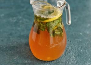 Холодный чай с мятой - фото шаг 5