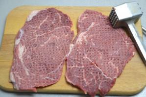 Шницель из мраморной говядины - фото шаг 3