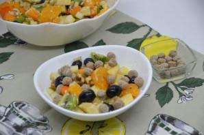 Постный фруктовый салат - фото шаг 10