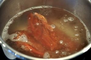 Чечевичный суп с копченостями - фото шаг 1