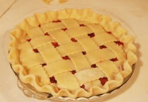 Быстрый пирог с вишней - фото шаг 9