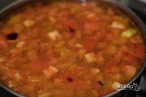 Овощной суп с орегано - фото шаг 6