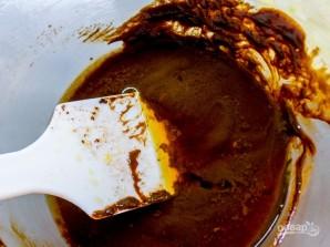 Кофейный чизкейк с шоколадным ганашем - фото шаг 4