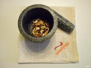 Салат из крабовых палочек и печени трески - фото шаг 5