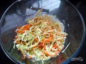 Салат с капустой Коул Слоу - фото шаг 3