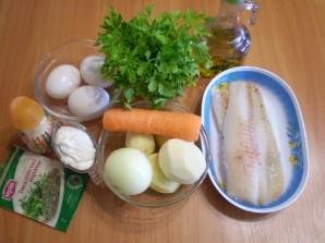 Рыбная запеканка из минтая - фото шаг 1