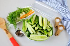 Рецепт засолки огурцов в пакете - фото шаг 2