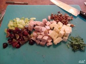 Салат из индейки с сыром - фото шаг 1