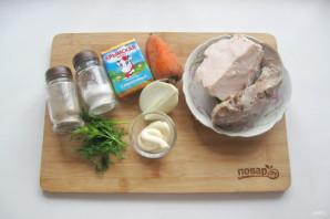 "Мясной салат ""Крыска"" - фото шаг 1"