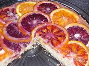 Апельсиновый пирог с полентой - фото шаг 7