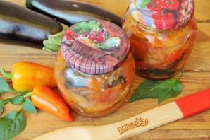 Баклажаны с перцами и помидорами - фото шаг 7