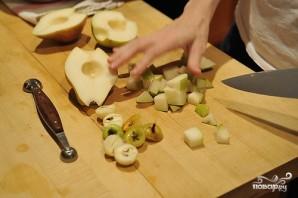 Салат с грушей и сыром - фото шаг 6
