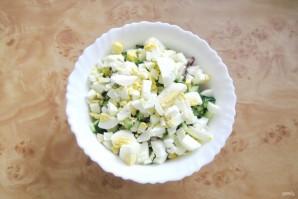Салат из курицы с рисом - фото шаг 6