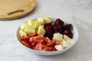 Томатно-сливовый соус на зиму - фото шаг 2