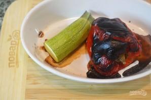 Овощная кесадилья с красной фасолью - фото шаг 1