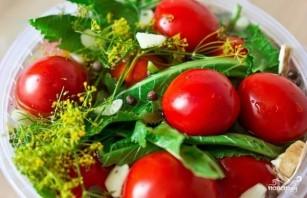 Соленые помидоры - фото шаг 6