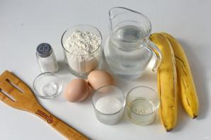 Банановые блинчики без молока - фото шаг 1