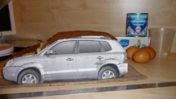 """Торт """"Автомобиль"""" - фото шаг 5"""