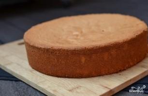 Бисквитно-фруктовый торт - фото шаг 1