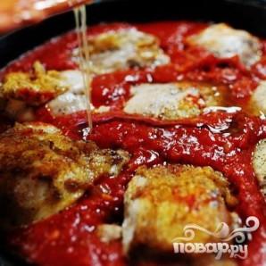 Паста Пенне с курицей и соусом Маринара - фото шаг 5